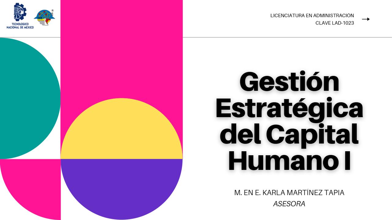 LAD-1023 Gestión Estratégica del Capital Humano I